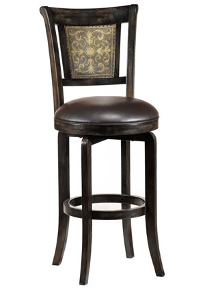 swivel bar stools with back